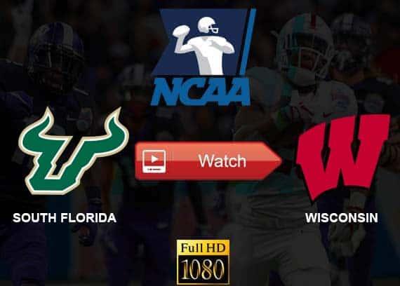 South Florida vs Wisconsin live stream reddit