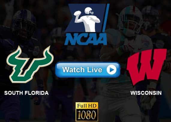 South Florida vs Wisconsin live streaming reddit