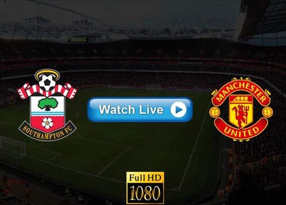 Manchester United vs Southampton live streaming reddit