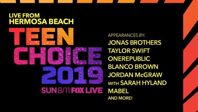 Teen Choice Awards 2019 live stream reddit