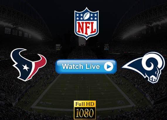 Texans vs Rams live streaming reddit