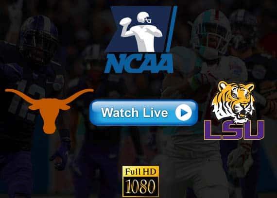Texas vs LSU live stream reddit