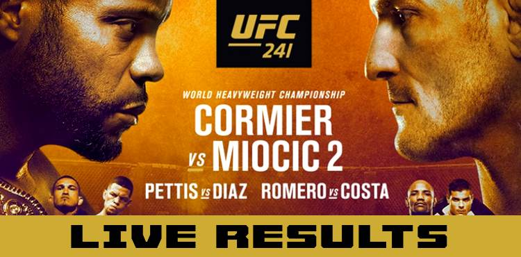 Watch UFC 241 Live Stream