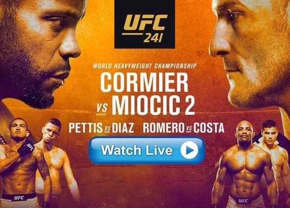UFC 241 live stream reddit