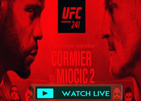 UFC 241 live stream