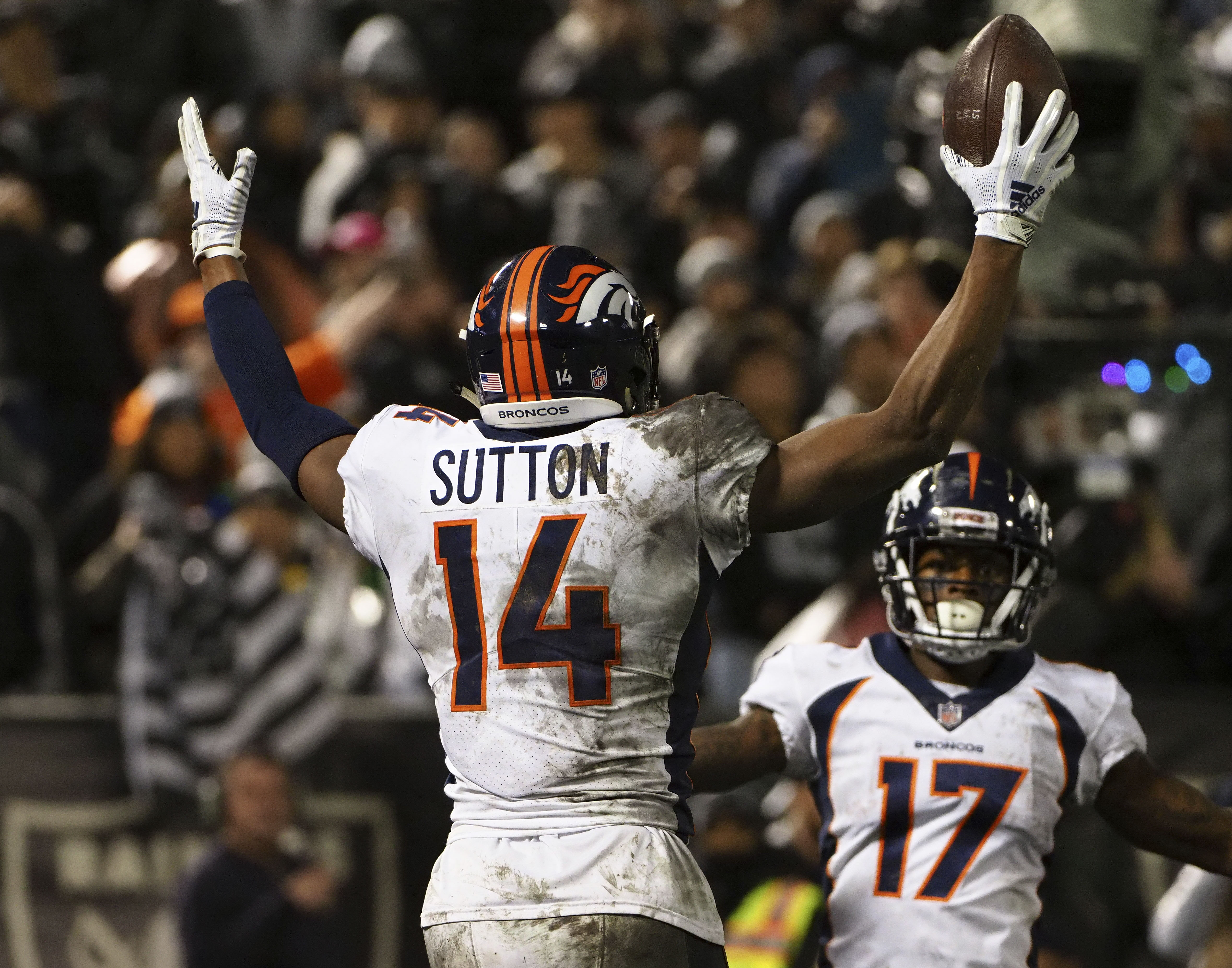 Emmanuel Sanders, Courtland Sutton trade punches in fight at training camp