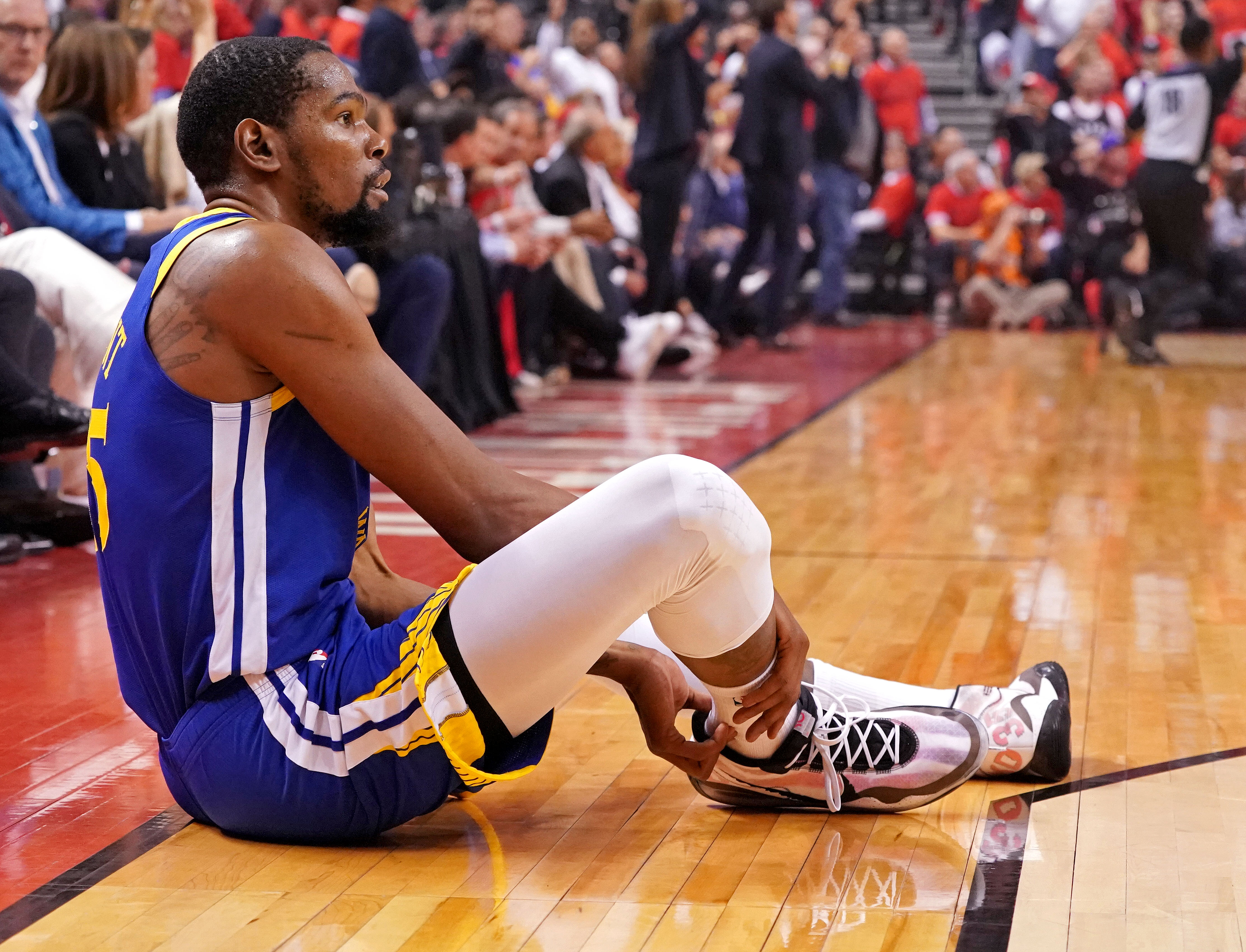 Kevin Durant finally addresses how Warriors handled his calf injury