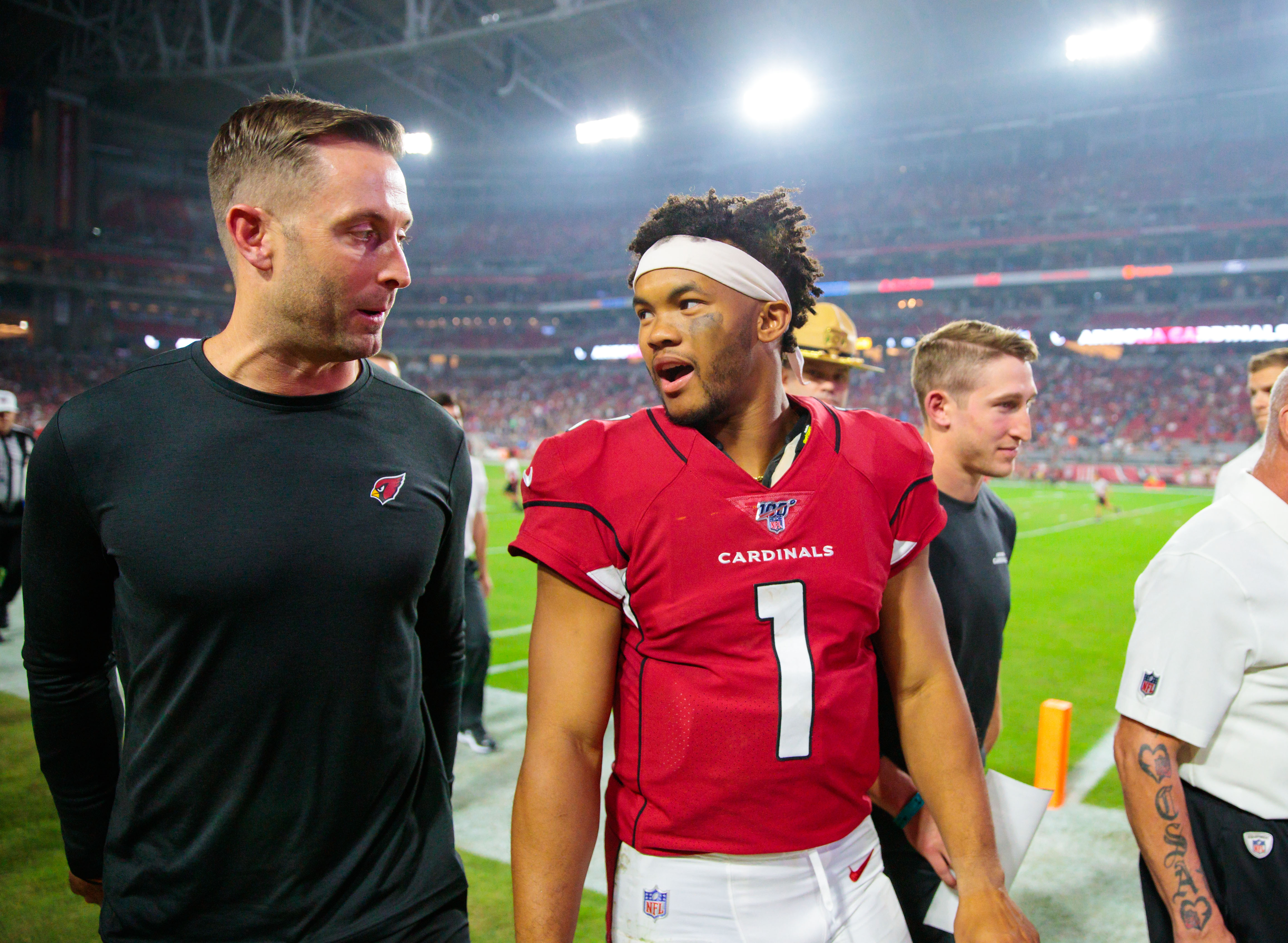 Kyler Murray has funny quote about how much older Terrell Suggs is than him
