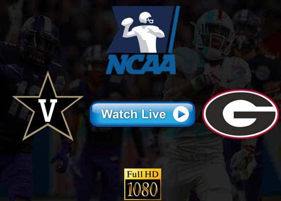 Vanderbilt vs Georgia live streaming reddit
