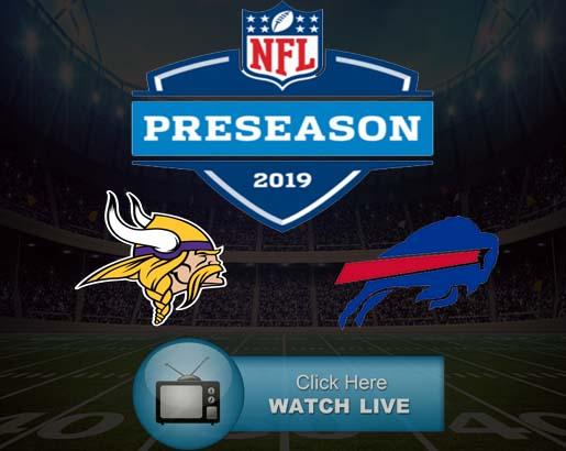 Buffalo Bills vs Minnesota Vikings Live Stream