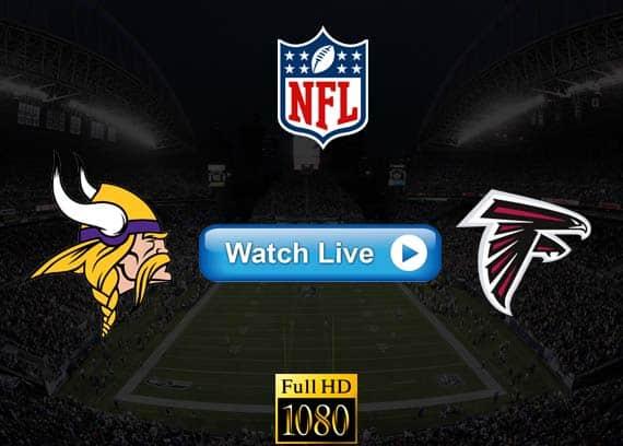 Vikings vs Falcons live streaming reddit
