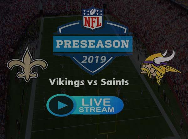 Saints vs Vikings Live Stream Online