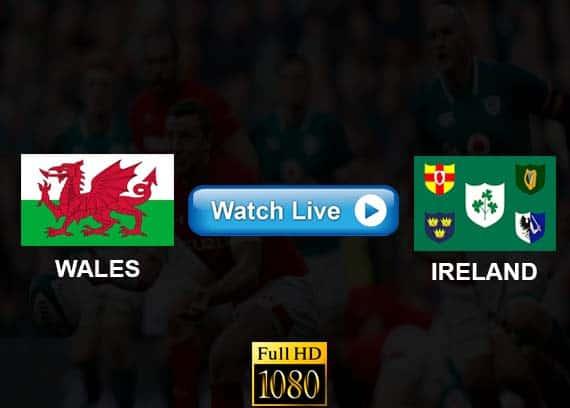 Wales vs Ireland live streaming reddit