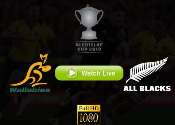 Wallabies vs All Blacks Bledisloe Cup live streaming