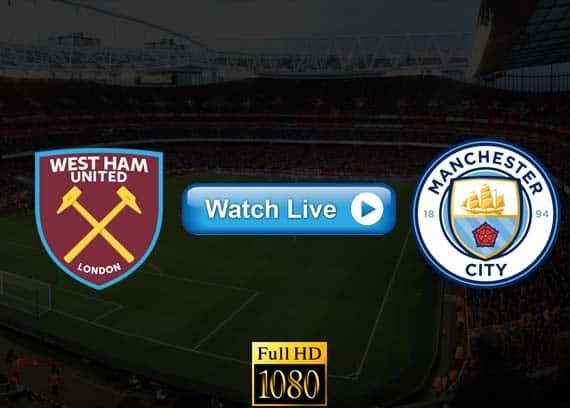 Manchester City vs West Ham live streaming reddit