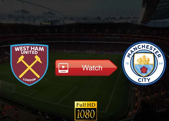 Manchester City vs West Ham live stream reddit