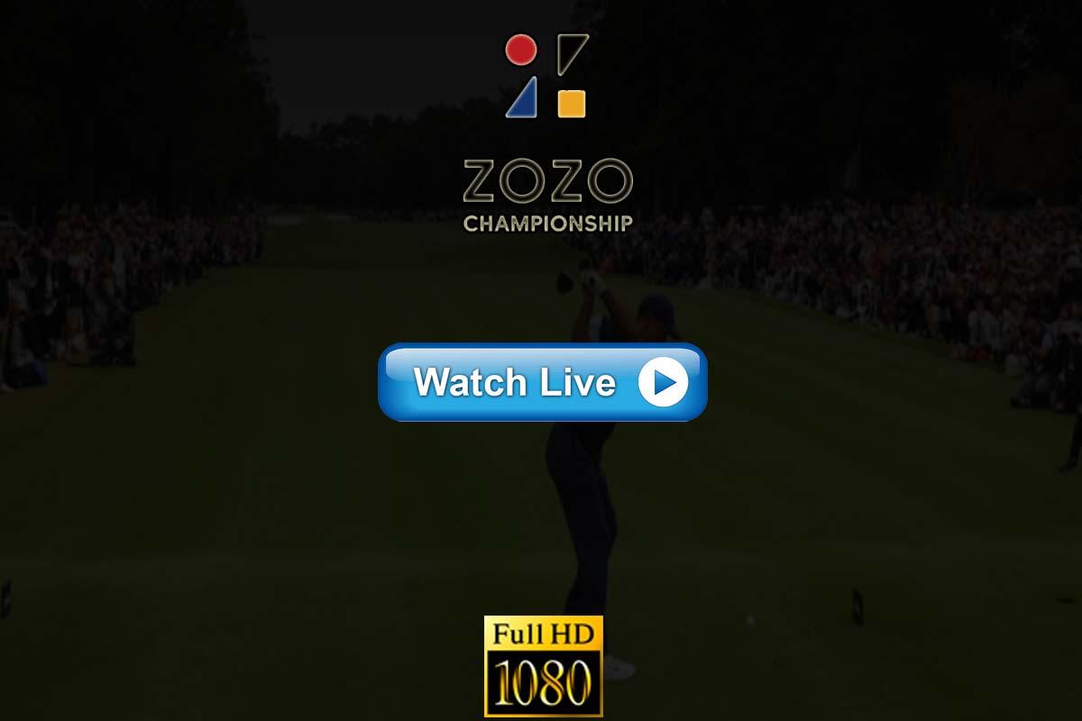 Zozo Championship live streaming reddit