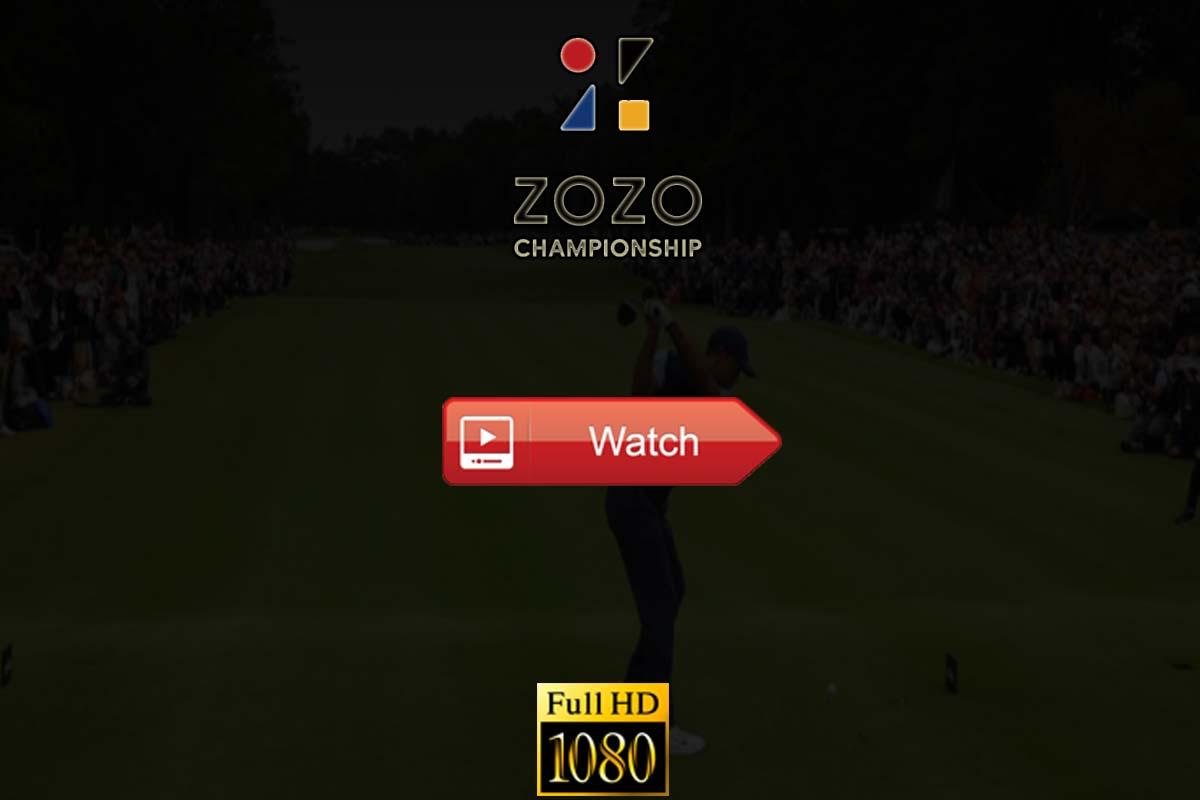 Zozo Championship live stream reddit