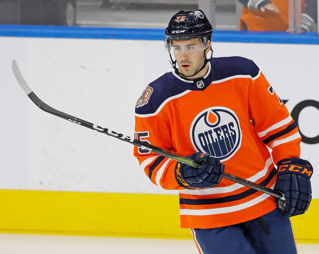 Oilers Make Right Decision Sending Evan Bouchard Down