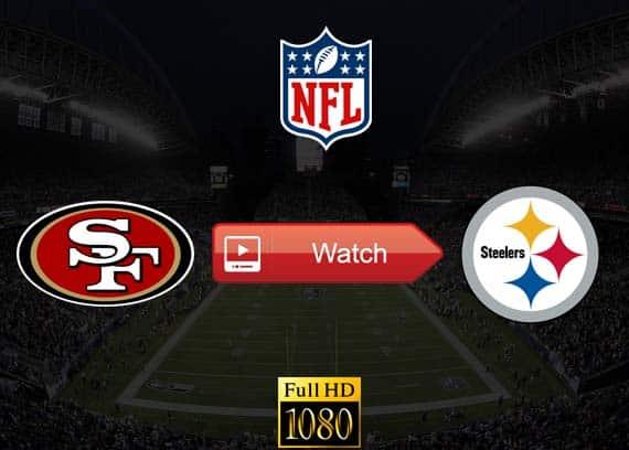49ers vs Steelers live stream reddit