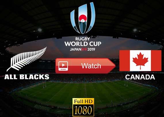 All Blacks vs Canada live stream reddit