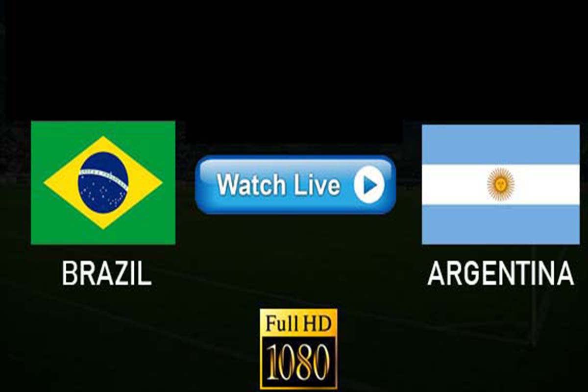 Argentina vs Brazil live streaming reddit