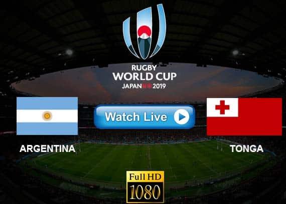 Argentina vs Tonga live streaming reddit
