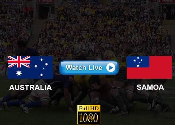 Australia vs Samoa live streaming reddit