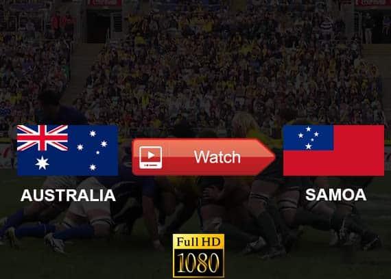Australia vs Samoa live stream reddit