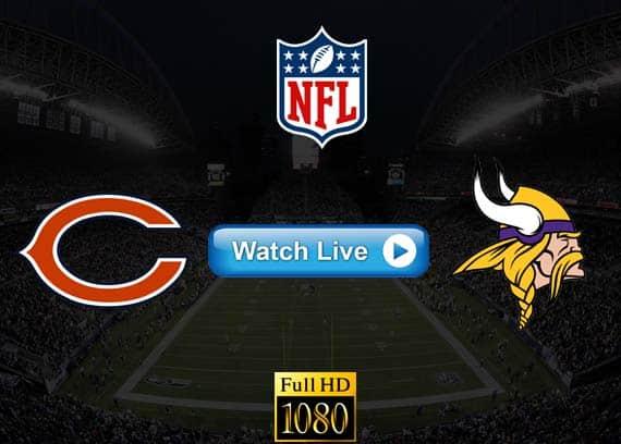 Bears vs Vikings live streaming reddit