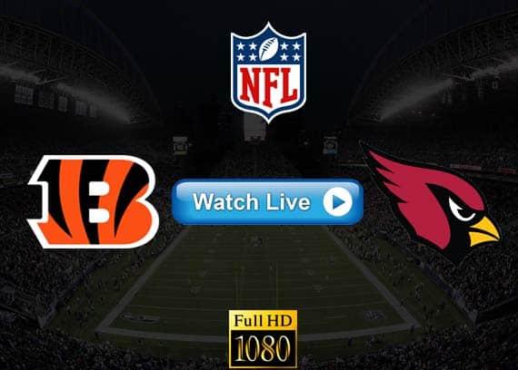 Bengals vs Cardinals live streaming reddit
