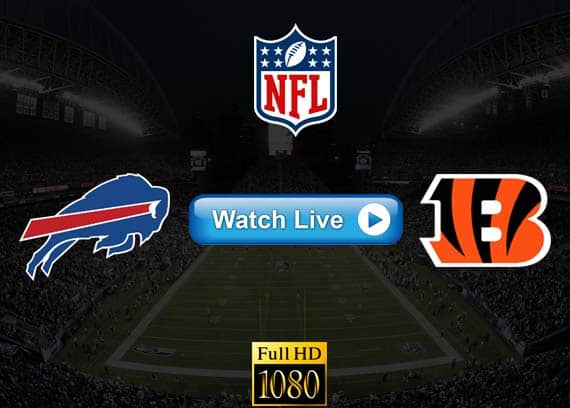 Bills vs Bengals live streaming reddit