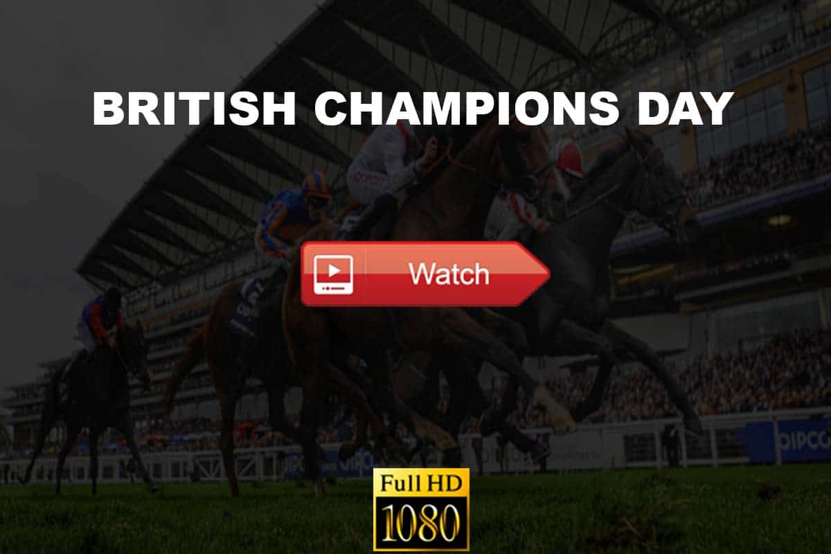 British Champions Day live stream reddit