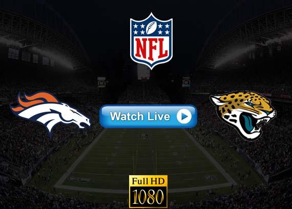 Broncos vs Jaguars live streaming reddit