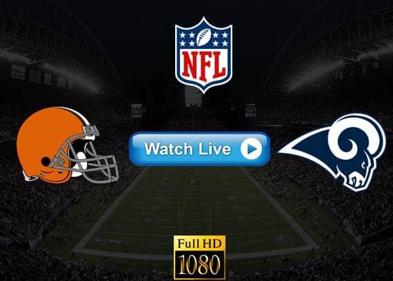 Browns vs Rams live streaming reddit