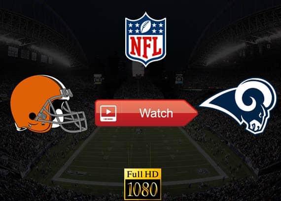 Browns vs Rams live stream reddit