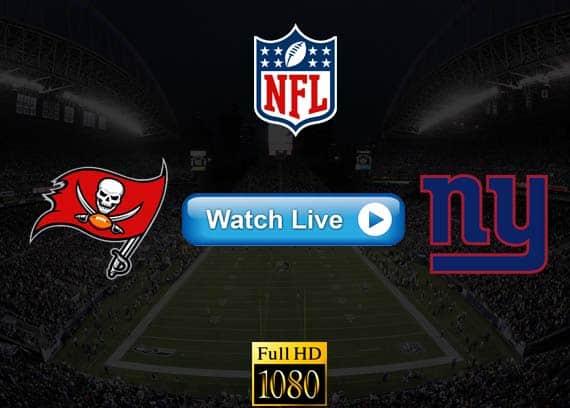 Buccaneers vs Giants live streaming reddit
