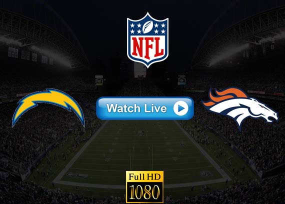 Chargers vs Broncos live streaming reddit