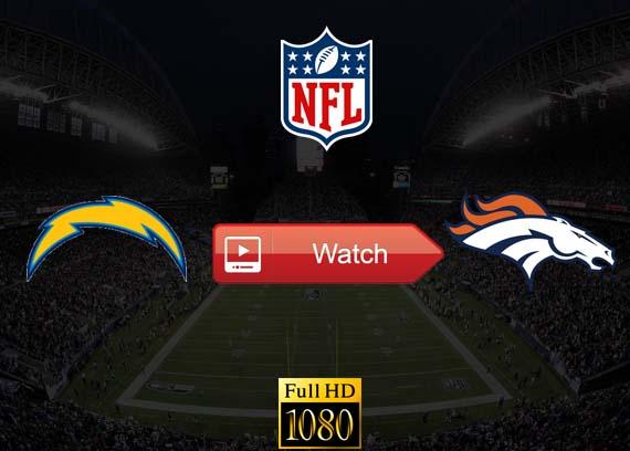 Chargers vs Broncos live stream reddit