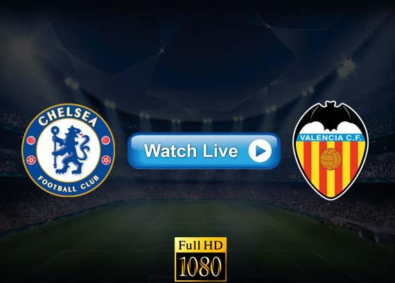 Chelsea vs Valencia live streaming reddit