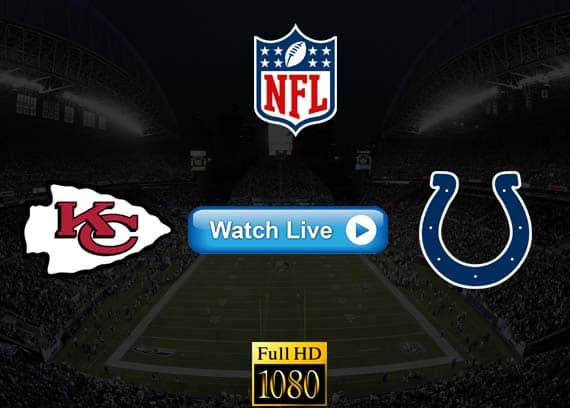 Chiefs vs Colts live streaming reddit