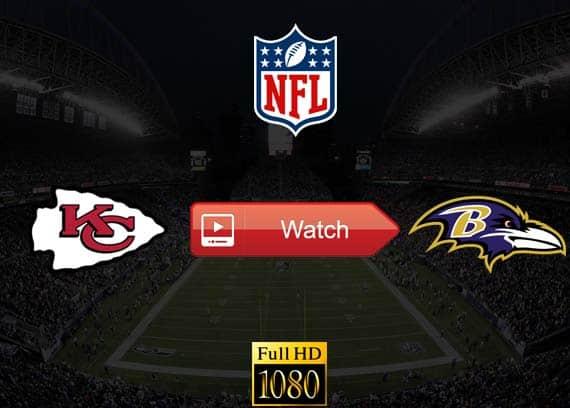 Chiefs vs Ravens live stream reddit