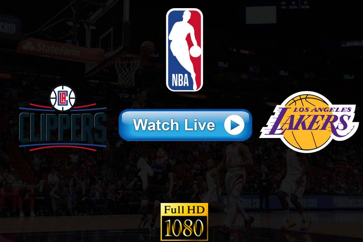 Clippers vs Lakers live streaming reddit