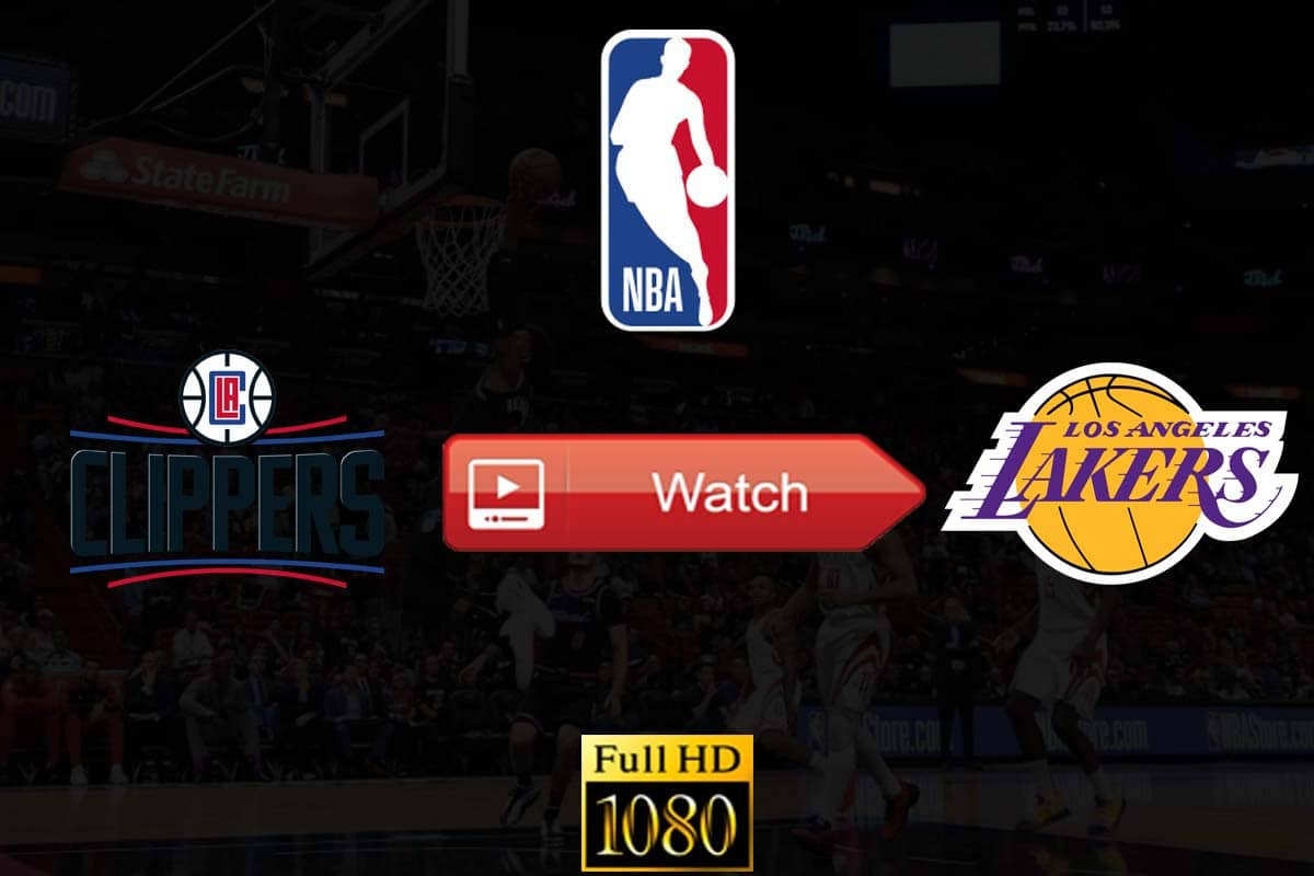 Clippers vs Lakers live stream reddit