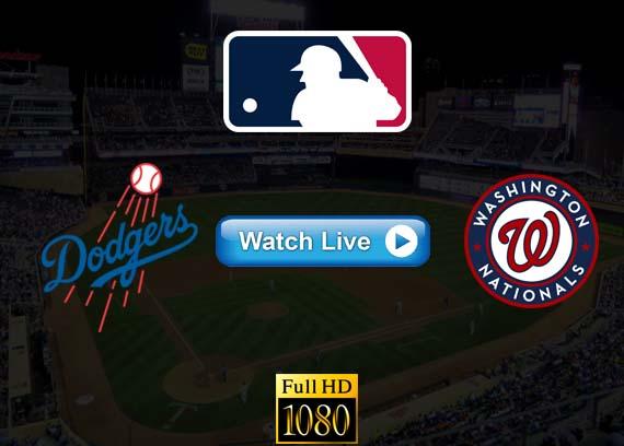 Dodgers vs Nationals live streaming reddit