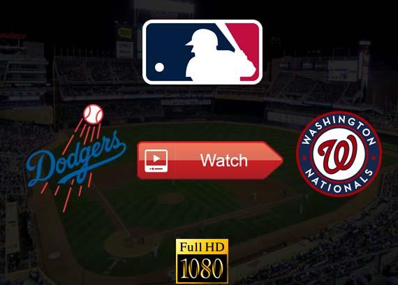 Dodgers vs Nationals live stream reddit