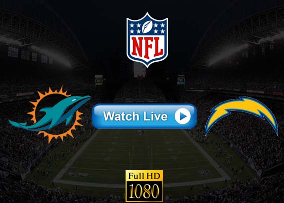 Dolphins vs Chargers live streaming reddit
