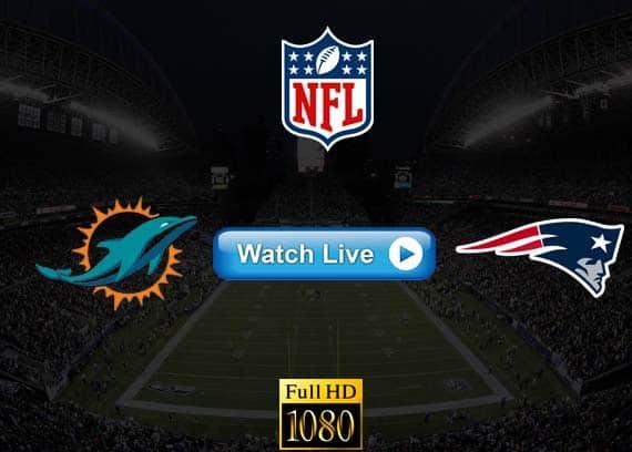Dolphins vs Patriots live streaming reddit
