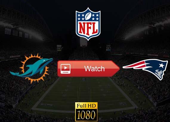 Dolphins vs Patriots live stream reddit