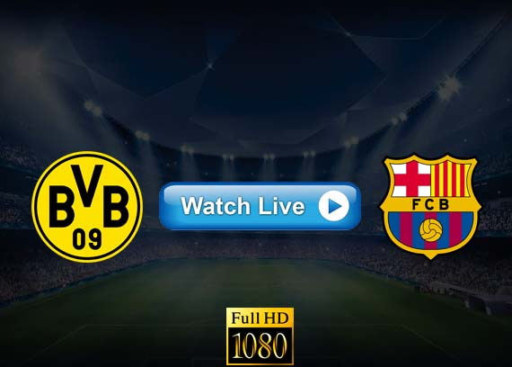 Barcelona vs Borussia Dortmund live streaming reddit